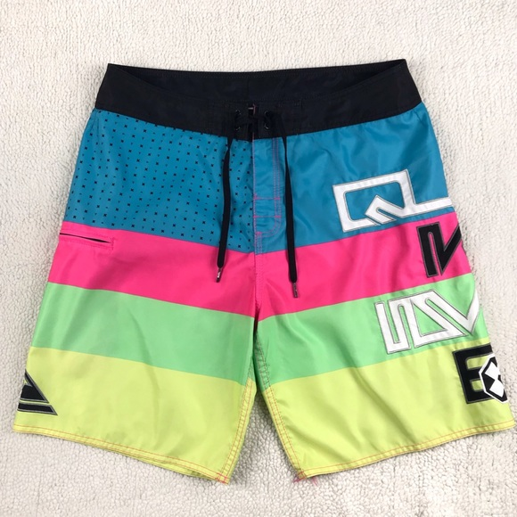 1d8d30fb33 Quiksilver Swim | Quicksilver Multicolor Board Shorts | Poshmark